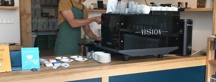 Pražírna kávy Kikafe is one of Gespeicherte Orte von Hana.