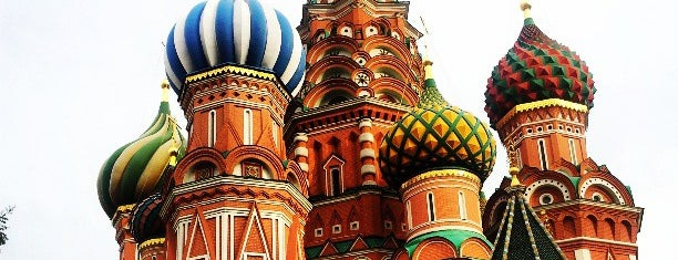 St. Basil's Cathedral is one of Russia.
