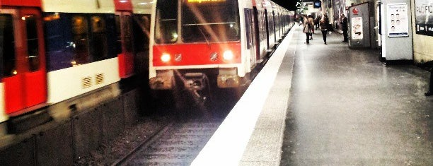 RER Luxembourg [B] is one of Paris: husband's hometown ♥.