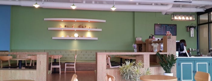 Brickhouse is one of Cafe part.4.
