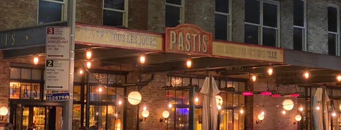 Pastis is one of Best NYC restaurants.