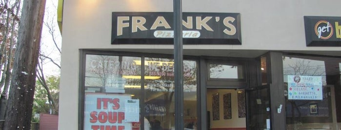 Frank's Pizzeria is one of My Home Town Haunts.