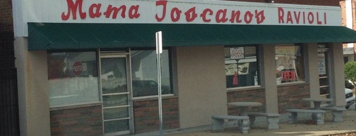 Mama Toscano's Ravioli is one of Rob's Liked Places.