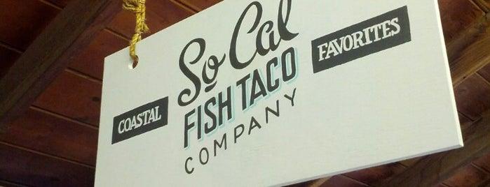 SoCal Fish Taco Company is one of Lugares guardados de Yvette.