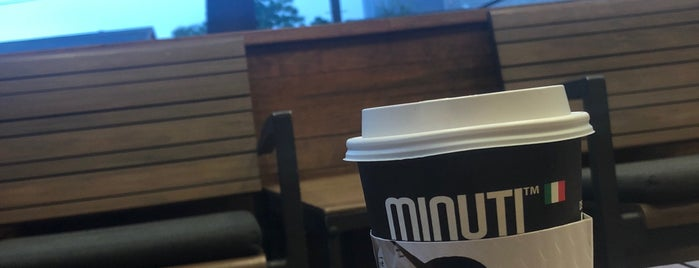 Minuti Coffee is one of Houston.