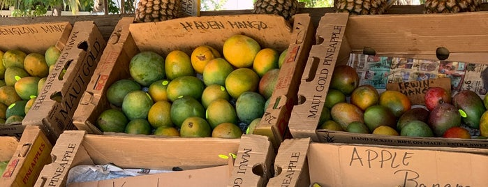 Yee's Orchard is one of Maui.