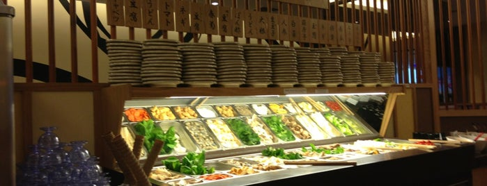 Suki-ya Japanese Buffet is one of Posti che sono piaciuti a Adrian.