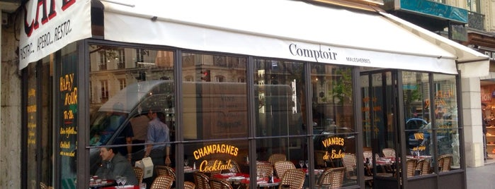 Comptoir Malesherbes is one of Marcel : понравившиеся места.