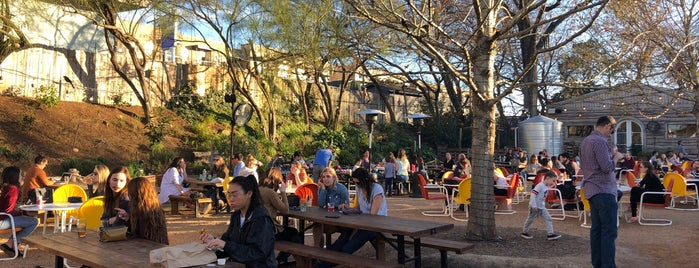 Cosmic Coffee + Beer Garden is one of Austin - CHECK!.