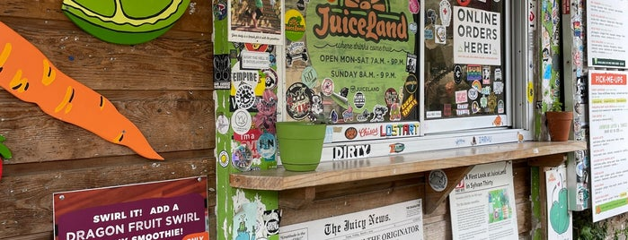 Juice Land is one of austin.