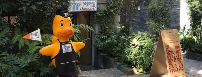 El Auténtico Pato Manila is one of CDMX: Roma.