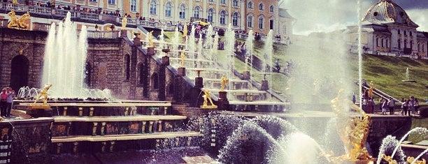 Музей-заповедник «Петергоф» is one of Интересные места. Санкт-Петербург..