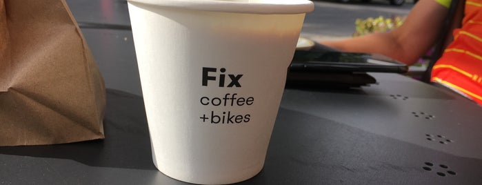 Fix Coffee + Bikes is one of Cafes, Coffee Houses.