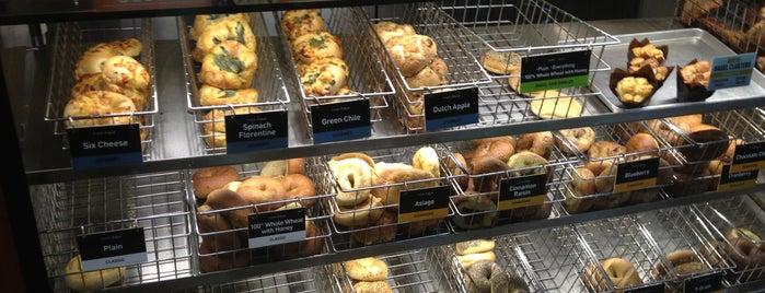 Einstein Bros Bagels is one of Favorite Food.
