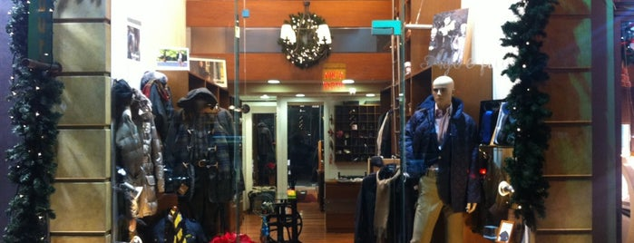 Ago e Filo Barbour Shop is one of Lina 님이 좋아한 장소.