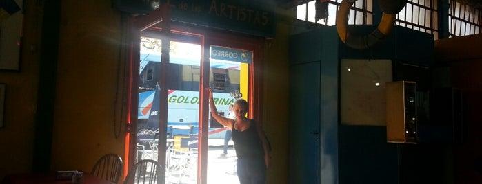 Cafe de los Artistas is one of สถานที่ที่ Stella ถูกใจ.