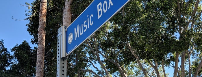Music Box Steps is one of LA?.