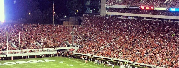 Sanford Stadium is one of FBS Stadiums.