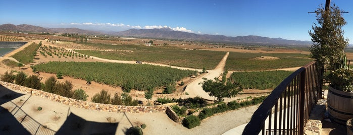 Las Nubes is one of Valle de Guadalupe.