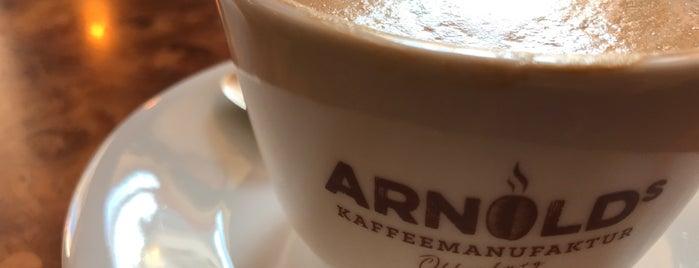 Arnolds Kaffeemanufaktur is one of Europe specialty coffee shops & roasteries.