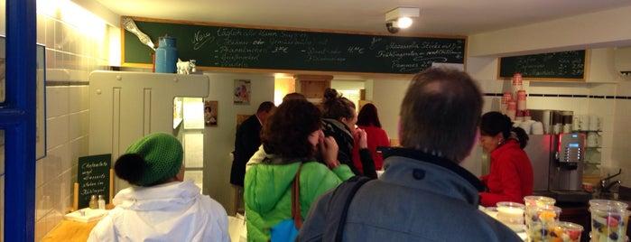 Ida's Milchladen is one of Lieux qui ont plu à Sebastian.