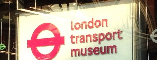 London Transport Museum is one of To Do with Kids in London.
