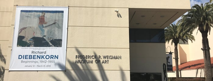 Frederick Weisman Museum is one of Around home.