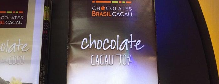 Chocolates Brasil Cacau is one of Posti che sono piaciuti a Sandra.