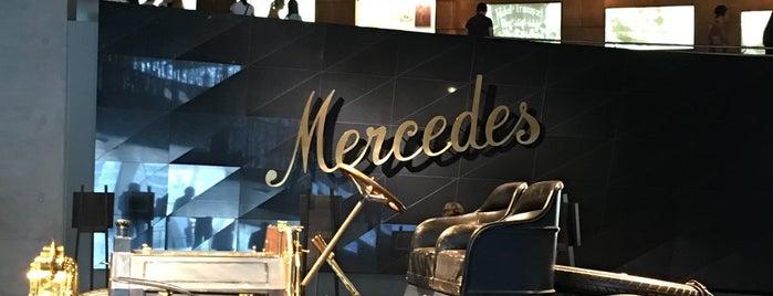 Mercedes-Benz Museum is one of Serap : понравившиеся места.