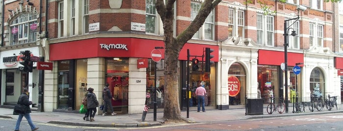 TK Maxx is one of London.