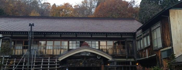 蔦温泉旅館 is one of Lieux qui ont plu à 2.
