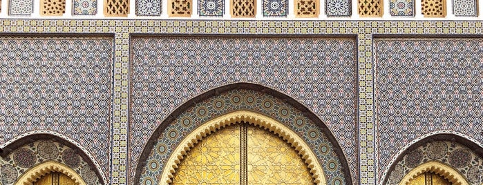 Porte Palais Royale is one of Morocco 🇲🇦.