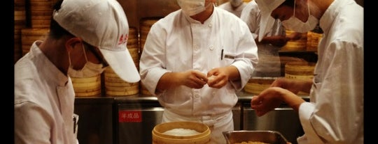 Din Tai Fung is one of Restos to hit up (ex. NYC) - JB.