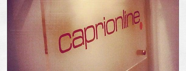 Caprionline is one of Locais curtidos por Riccardo.