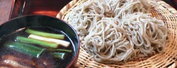 そば切り 天笑 is one of ミシュランガイド関西2014 (蕎麦).