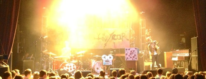 Madison Theater is one of Walk the Moon Tour Dates Winter 2012.