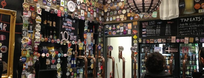 Tap East is one of London's Best for Beer.