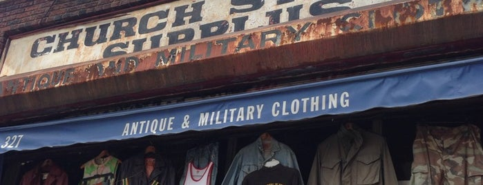 Church Street Surplus is one of NYC Shopping.