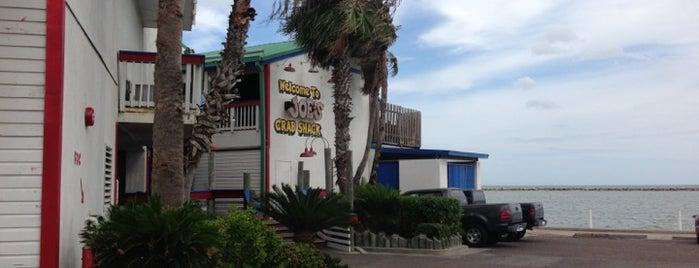 Joe's Crab Shack is one of Locais curtidos por Gregory.