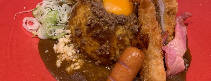 Fujiyama Dragon Curry is one of TOKYO-TOYO-CURRY 3.