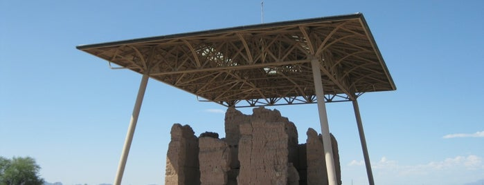 Casa Grande Ruins National Monument is one of Places I Recommend to Visit.