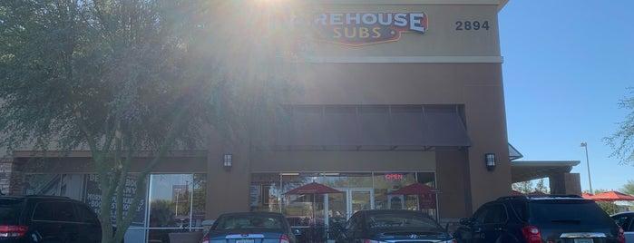 Firehouse Subs Market Street is one of Lieux qui ont plu à David.