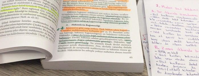 Hukuk Fakültesi is one of Tempat yang Disukai MeRVe 💄.