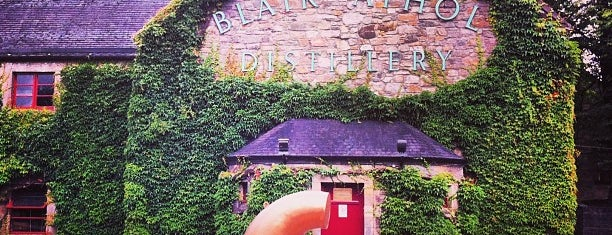 Blair Athol Distillery is one of Part 1 - Attractions in Great Britain.