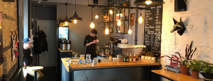 RIGHT Coffee Bar is one of Coffee & desserts in Kyiv.