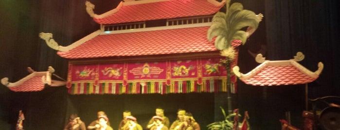 Không Gian Văn Hoá Việt (Lotus Water Puppet Theater) is one of Hanoi.
