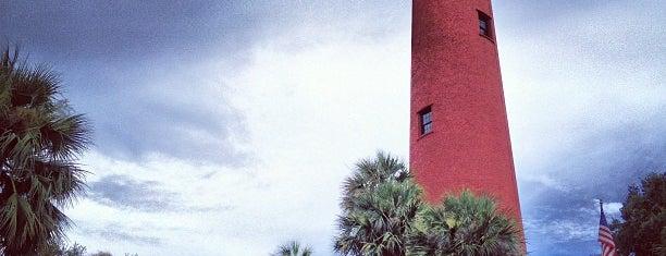 Jupiter Lighthouse is one of สถานที่ที่บันทึกไว้ของ HeidiHo.