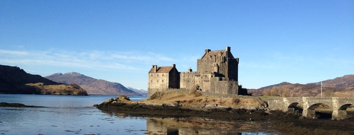 Eilean Donan Castle is one of Sightseeing spots and historic sites.