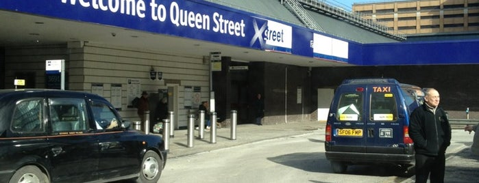 Glasgow Queen Street Railway Station (GLQ) is one of Glasgow Places To Visit.