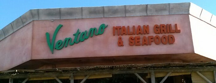 Ventano Italian Grill & Seafood is one of Lugares favoritos de kerry.
